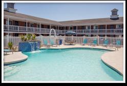 Pool at Resort in York Beach ME