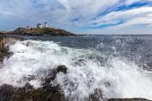 A Day in York Beach, Maine